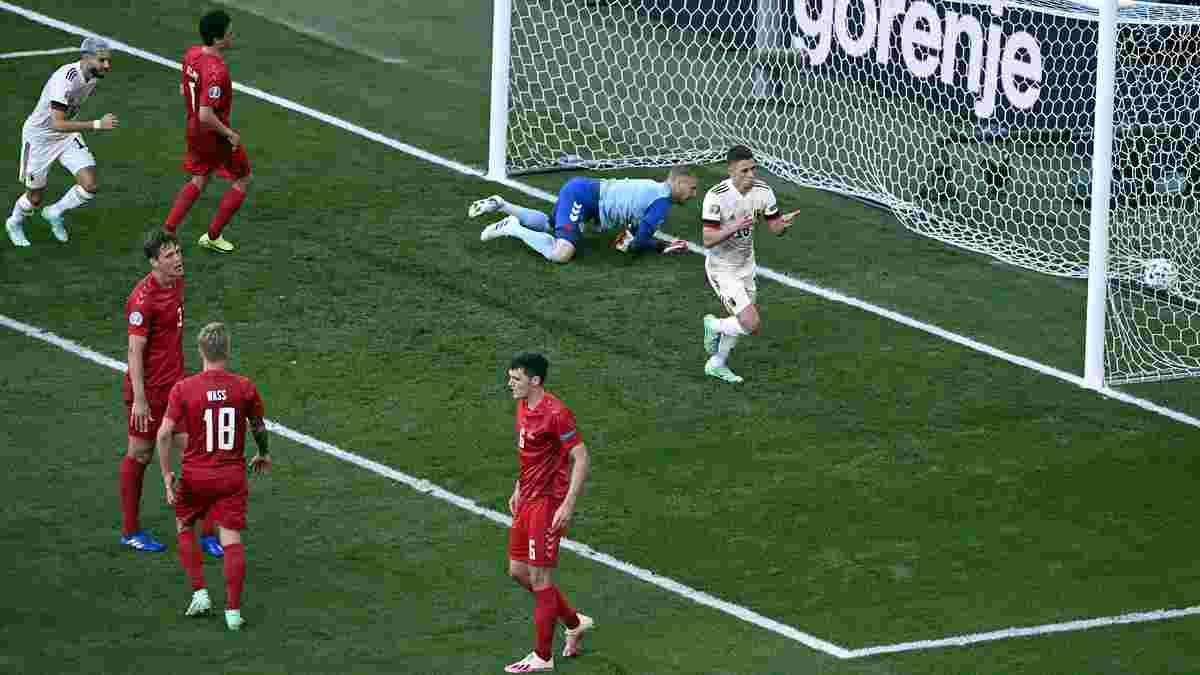 Бельгія втратила Азара на заключний тур групового етапу Євро-2020