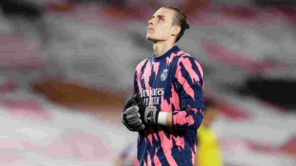 Лунін став ціллю чотирьох іспанських клубів – це створює Реалу проблему