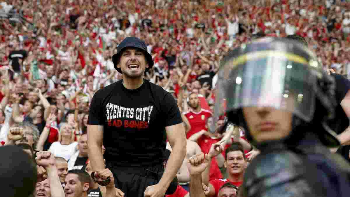 УЄФА візьметься за угорських фанатів – вболівальники виступили проти руху на підтримку темношкірих на Євро-2020