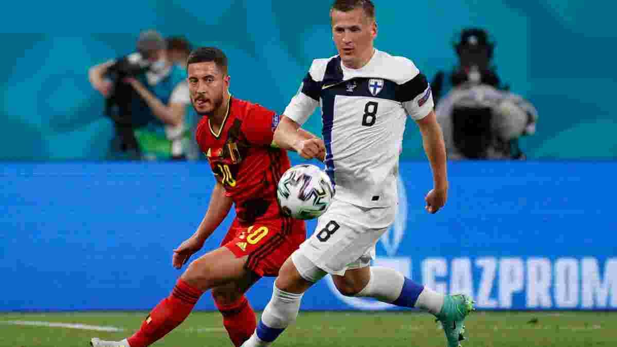 Бельгія обіграла Фінляндію та виграла групу – Україна обходить Суомі та збільшила шанс на плей-офф Євро-2020