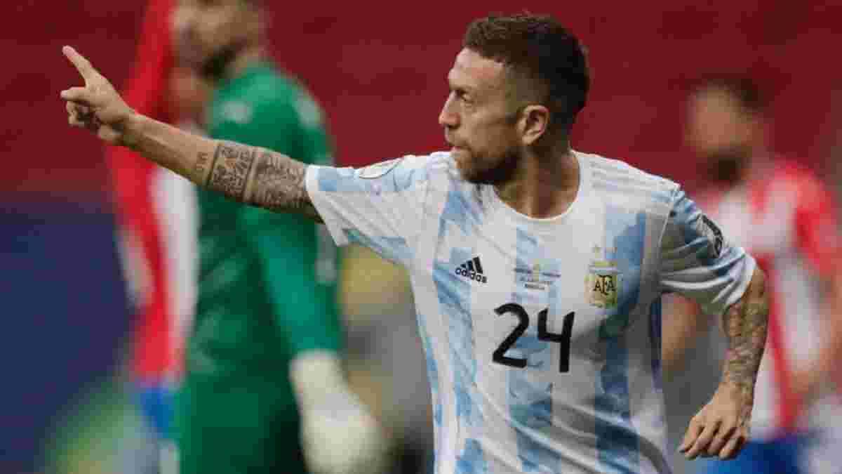 Копа Америка: Папу Гомес сделал Аргентину лидером, автогол Видаля лишил Чили победы над Уругваем