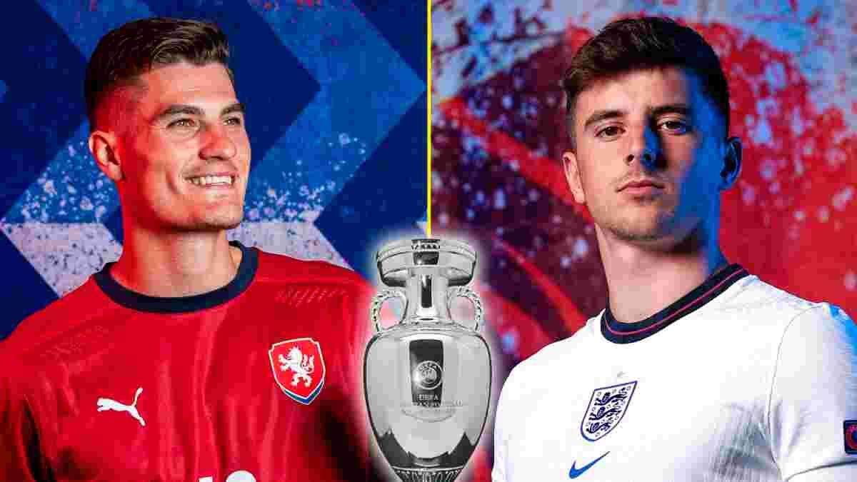 Чехія – Англія: онлайн-трансляція матчу Євро-2020