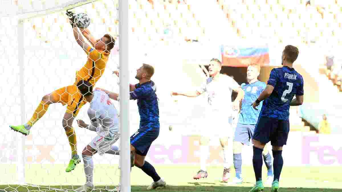 Словакия – Испания – 0:5 – видео голов и обзор матча