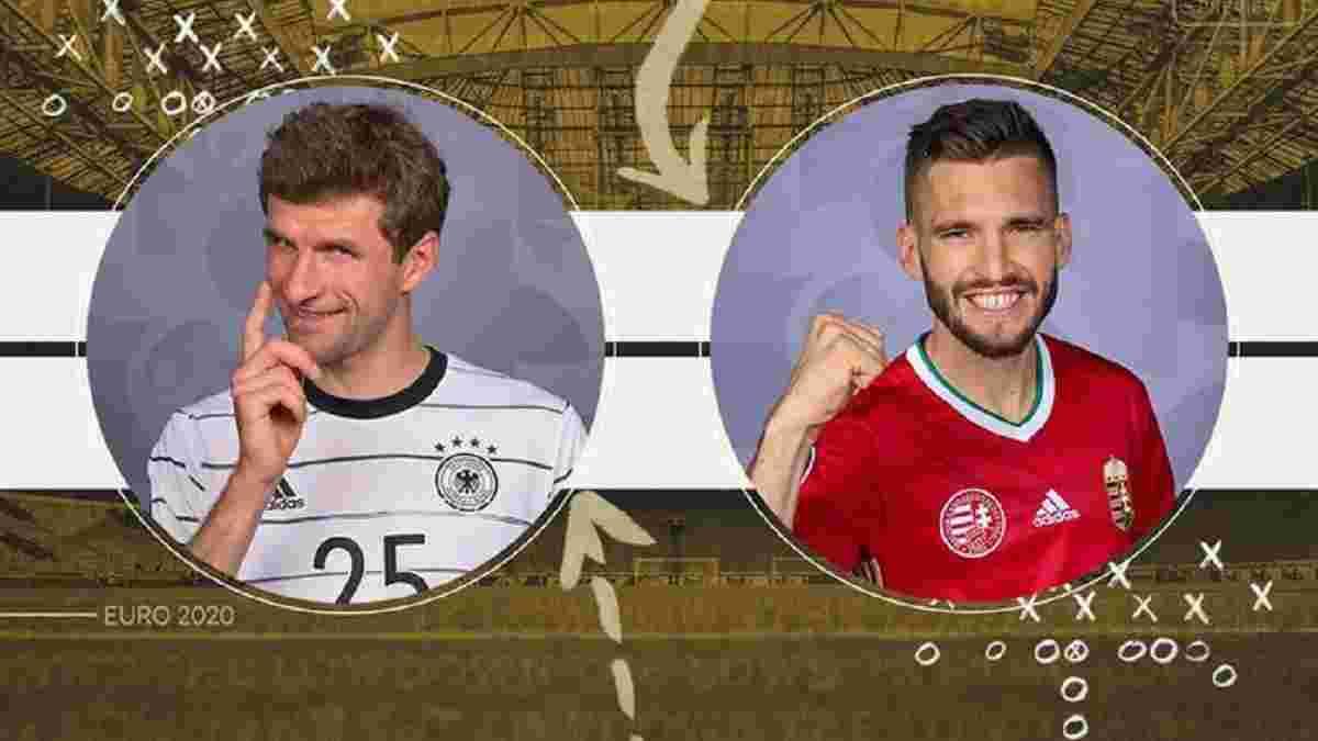 Німеччина – Угорщина: онлайн-трансляція матчу Євро-2020