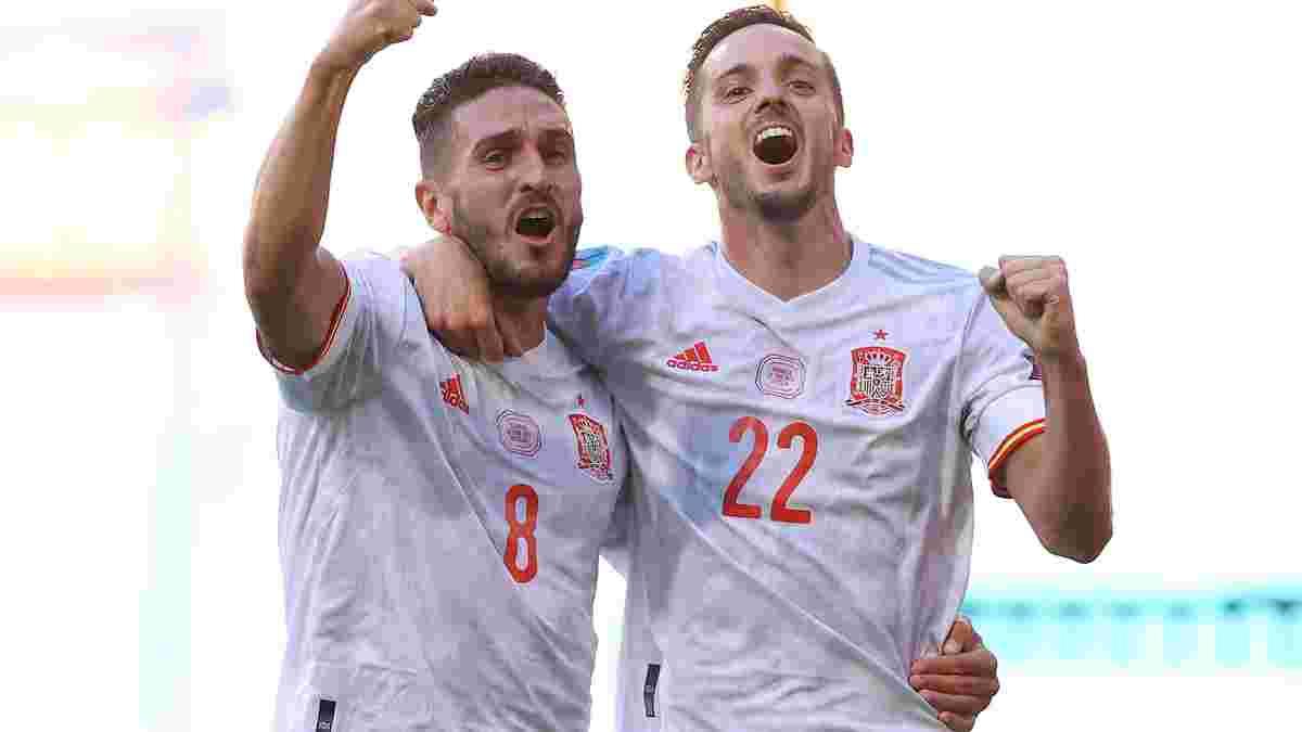"""Іспанія допомогла Україні вийти в плей-офф Євро-2020, знищивши Словаччину – """"Фурію Роху"""" прорвало перед Хорватією"""