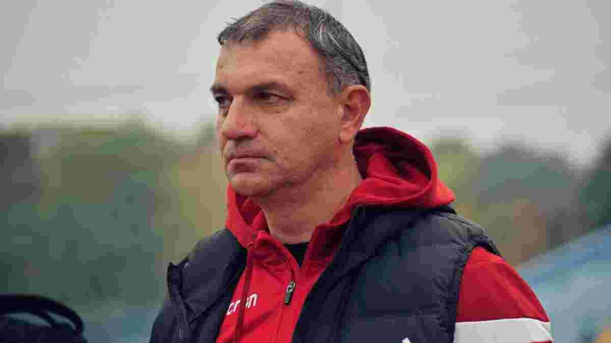 Новачок Першої ліги оголосив про відхід тренера – наставник встановив з клубом історичне досягнення