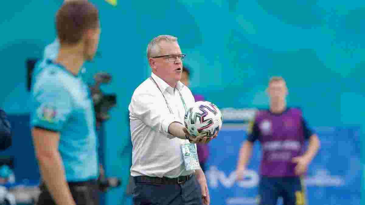 Наставник збірної Швеції планує допомогти Україні потрапити у плей-офф – він має свої причини