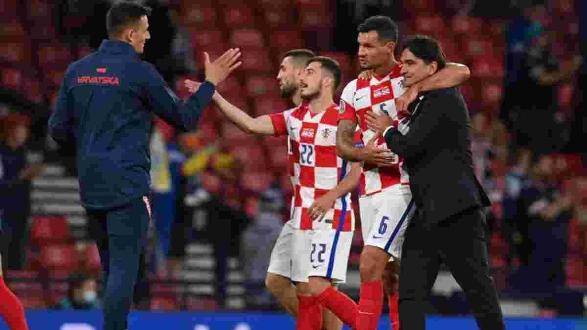"""""""Вы – наша сила"""": Далич отметил роль болельщиков в выходе Хорватии в плей-офф Евро-2020"""