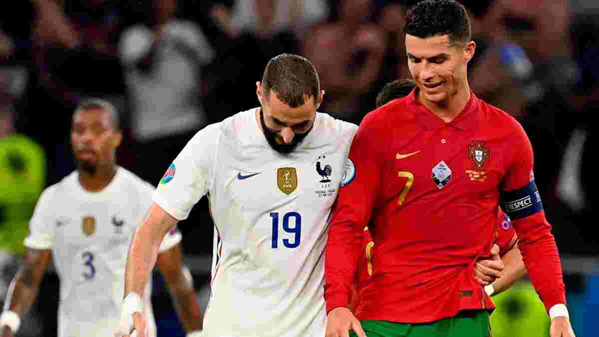 """Португалія зіграла внічию з Францією – Роналду в топовій формі, Погба знову тягне """"Ле Бльо"""", а """"селесао"""" скоро вилетять"""