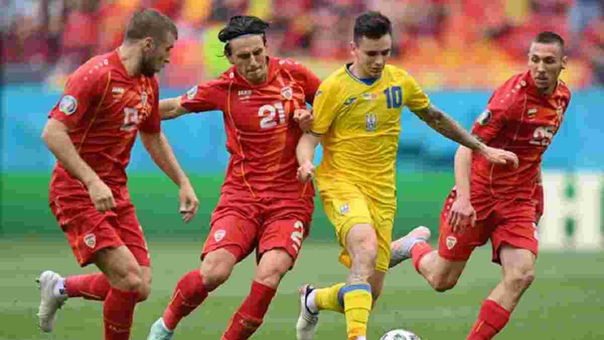 УЄФА розслідуватиме справу щодо Північної Македонії – суперник України міг порушити медпротокол