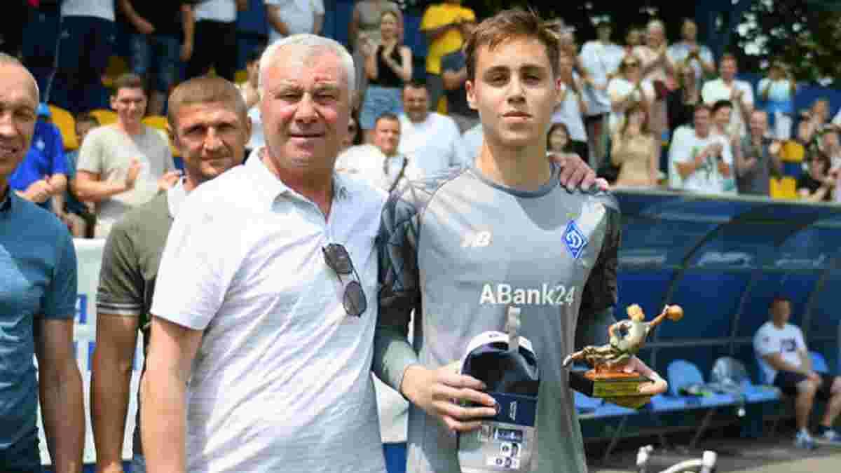 Син Суркіса розраховує потрапити до першої команди Динамо – юний голкіпер назвав свого кумира
