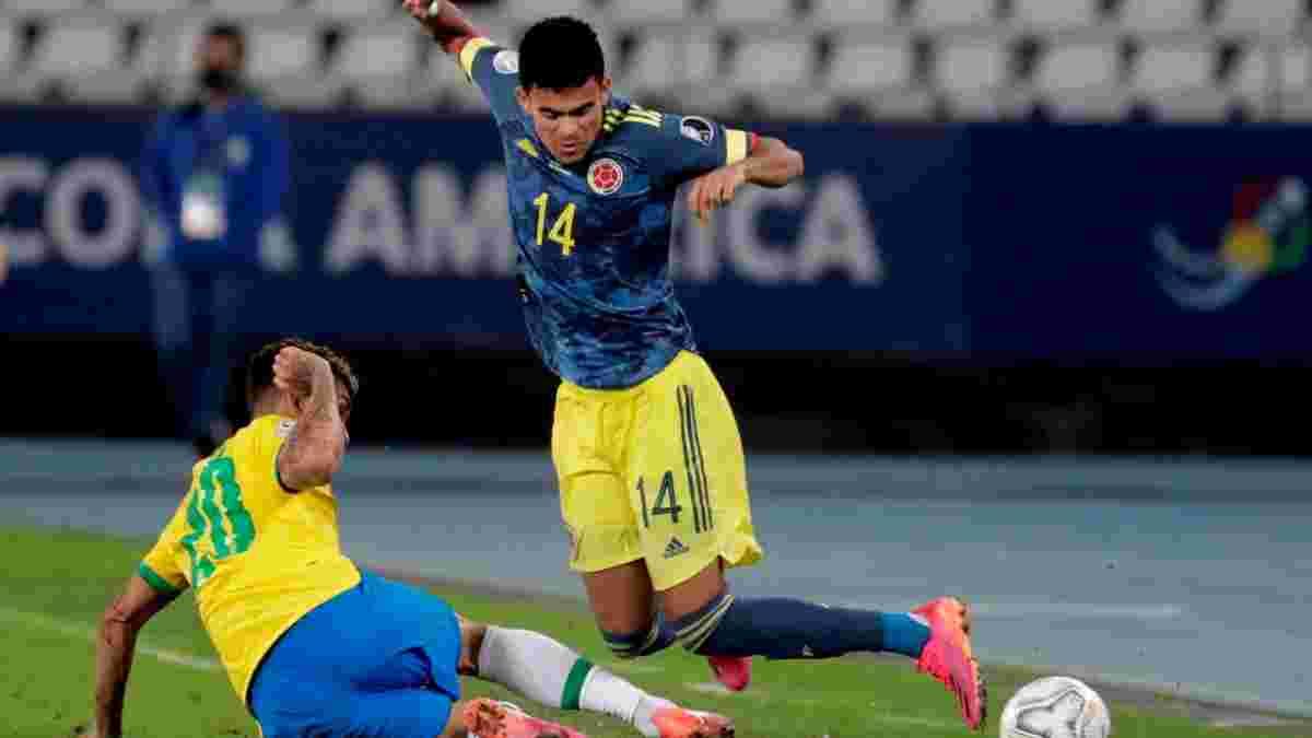 Півзахисник збірної Колумбії забив розкішний гол у ворота Бразилії – голкіпер не мав шансів проти гарматної бісіклети