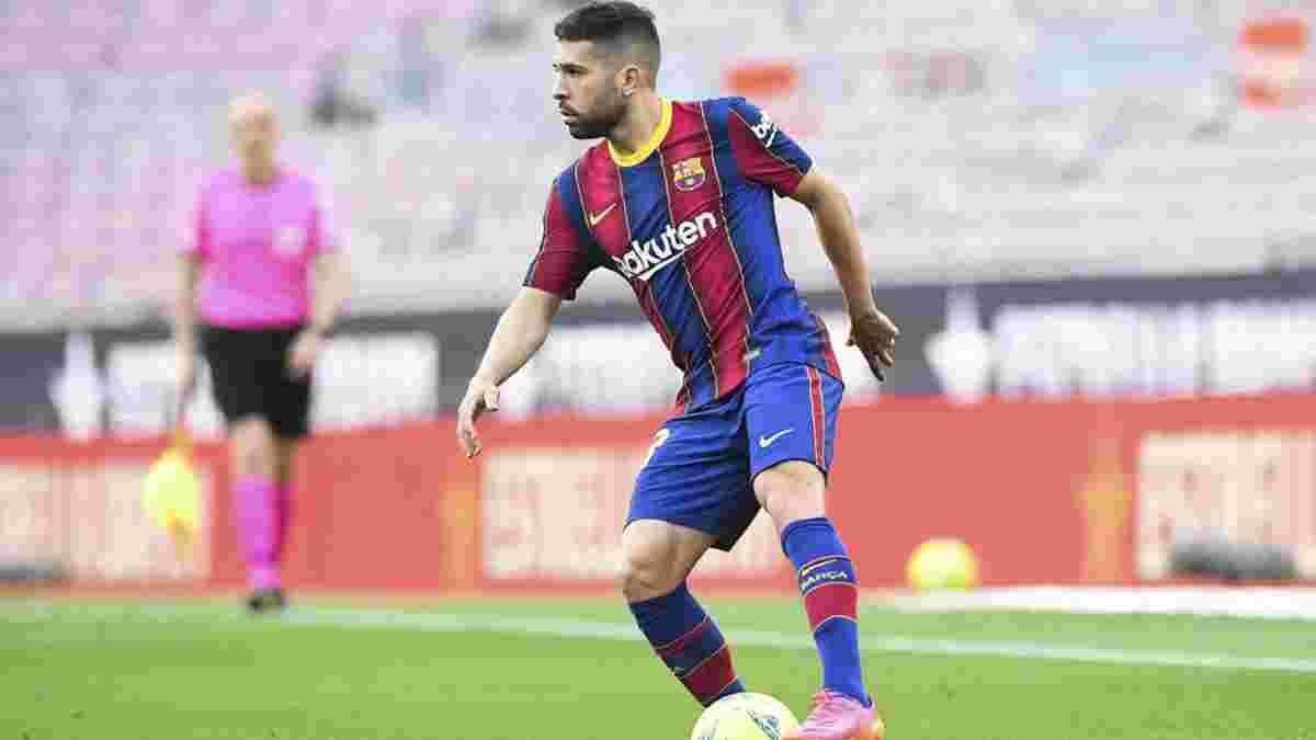 Интер хочет подписать Альбу и предлагает Барселоне варианты суперобмена