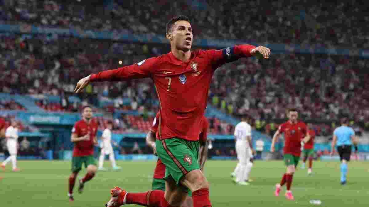 Роналду едва не пострадал в матче с Францией – фанаты бросили в Криштиану бутылку Coca-Cola