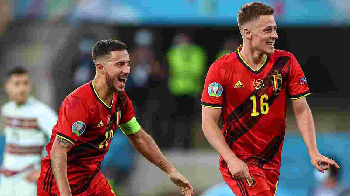 """Бельгія – Португалія: Азар-молодший ефектно завершив Євро для Роналду, """"селесао"""" подолали сірість і зламали де Брюйне"""