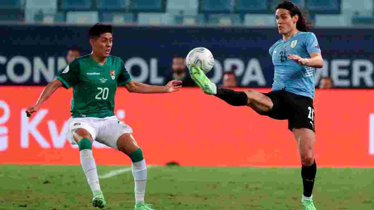 Копа Амеріка: Уругвай розібрався з Болівією, Чилі несподівано поступилась Парагваю, визначився перший невдаха турніру
