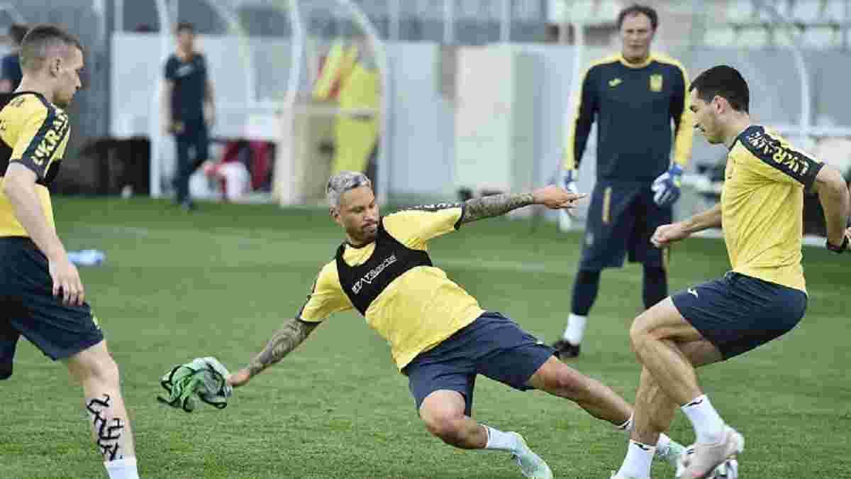Сборная Украины определилась с местом подготовки к матчу 1/8 финала Евро со Швецией
