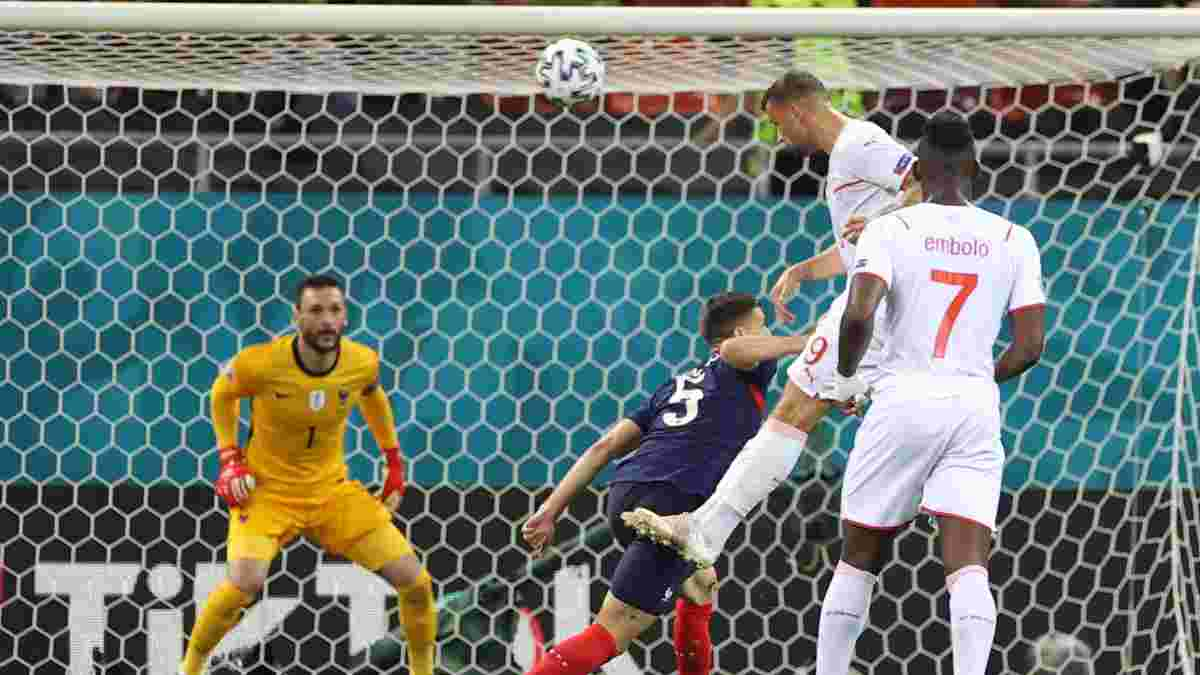 Франція – Швейцарія – 3:3 (пенальті – 4:5) – відео голів і огляд матчу