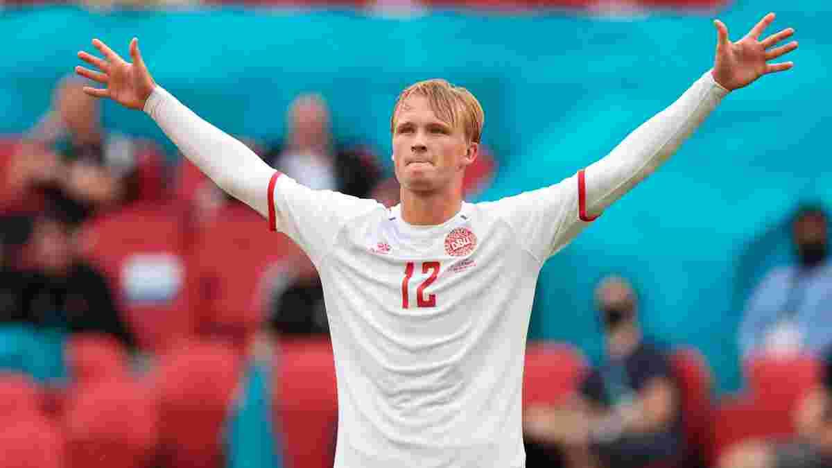 Данія вийшла в 1/4 фіналу Євро, розбомбивши Уельс: Каспер Юлманд вміє все, магія дальніх ударів, тріумф Дольберга і Меле