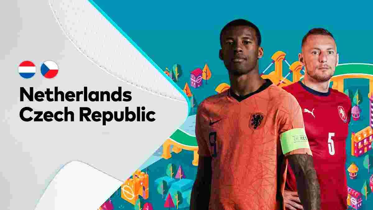 Нидерланды – Чехия: онлайн-трансляция матча 1/8 финала Евро-2020