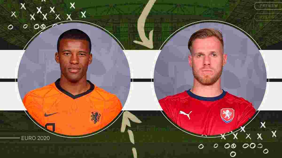 Нидерланды – Чехия: анонс матча 1/8 финала Евро-2020