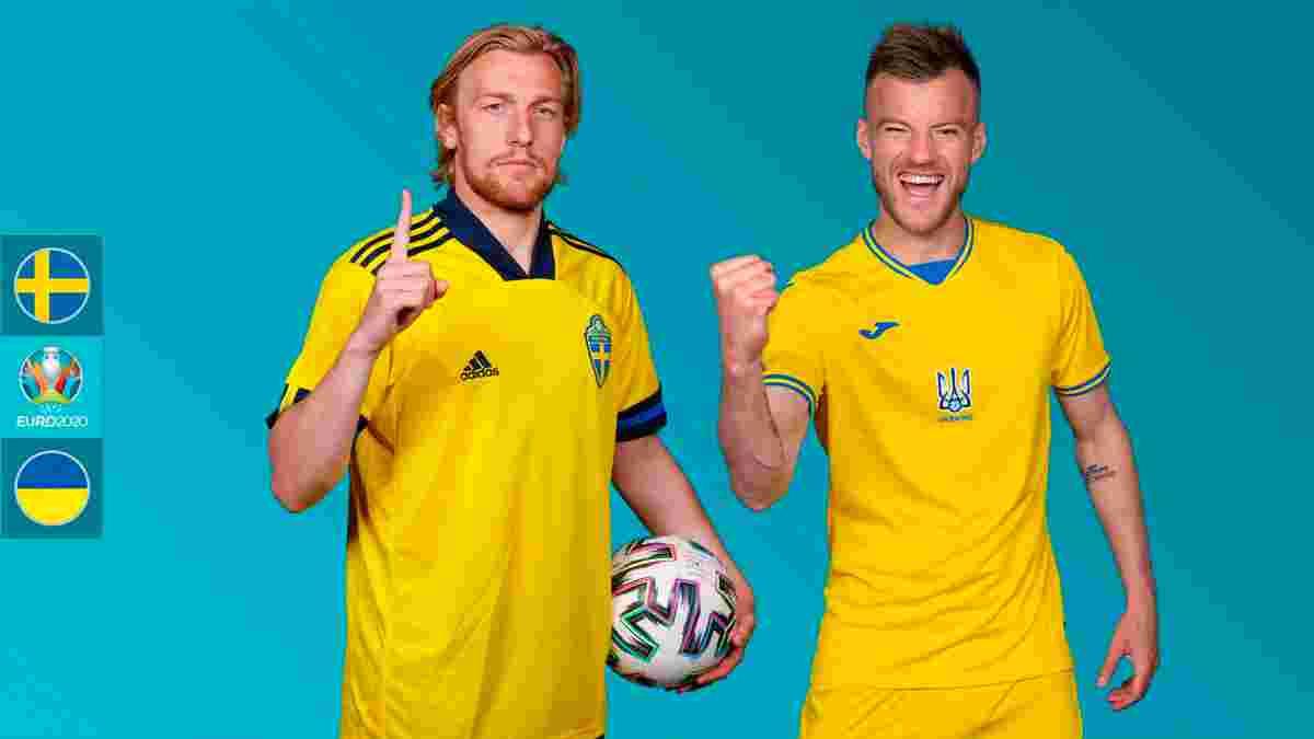 Швеция – Украина: анонс матча 1/8 финала Евро-2020