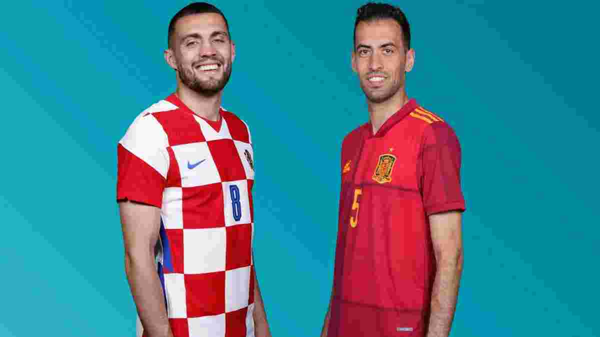 Хорватия – Испания: онлайн-трансляция матча 1/8 финала Евро-2020