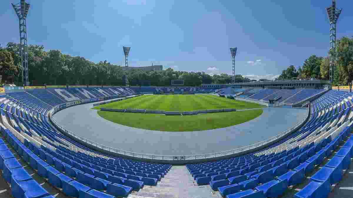 Динамо готовит модернизацию стадиона имени Лобановского