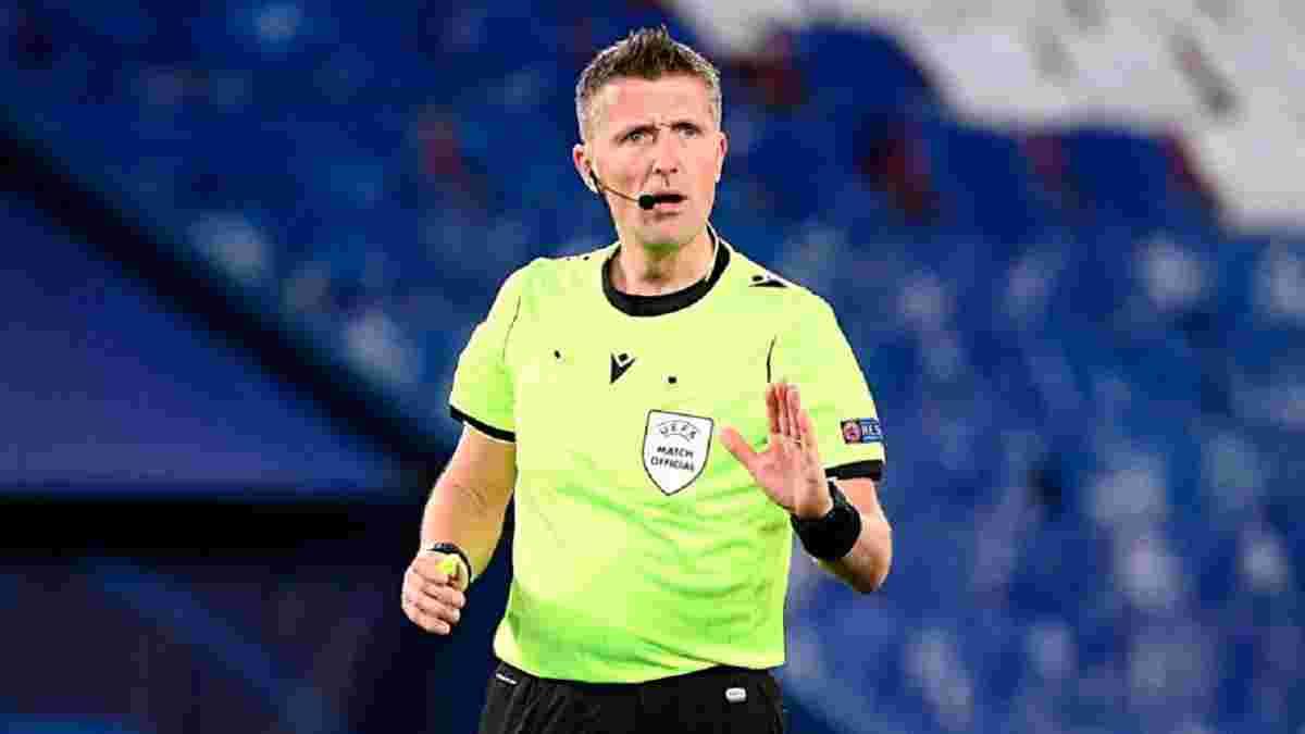 Швеция – Украина: на матч 1/8 финала Евро назначили звездного итальянского арбитра