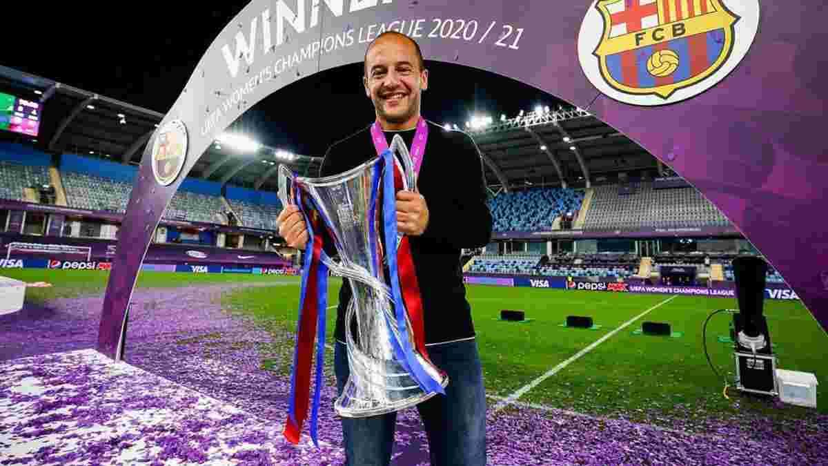 Барселона звільнила тренера, який взяв требл з жіночою командою – прощання вийшло феєричним