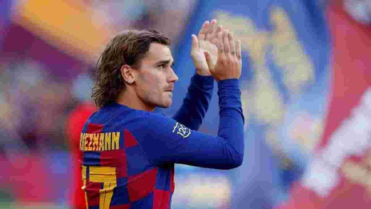 Барселона выставила Гризманна на трансферный рынок