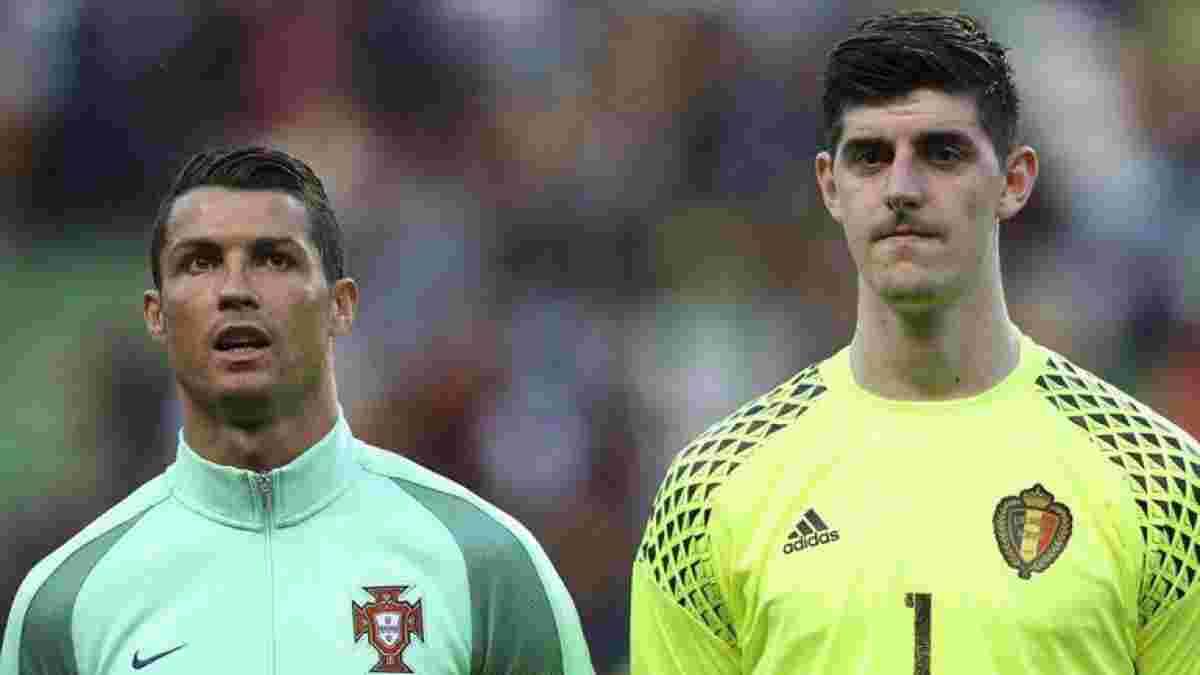Куртуа хладнокровно разобрался с Роналду вблизи собственных ворот – момент дня на Евро-2020