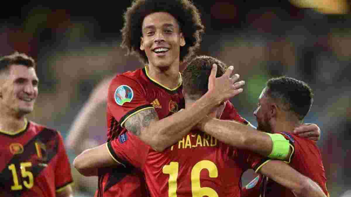 Витсель сравнил игру Бельгии с выступлением Португалии на Евро-2016 – Роналду и Ко тогда стали победителями турнира