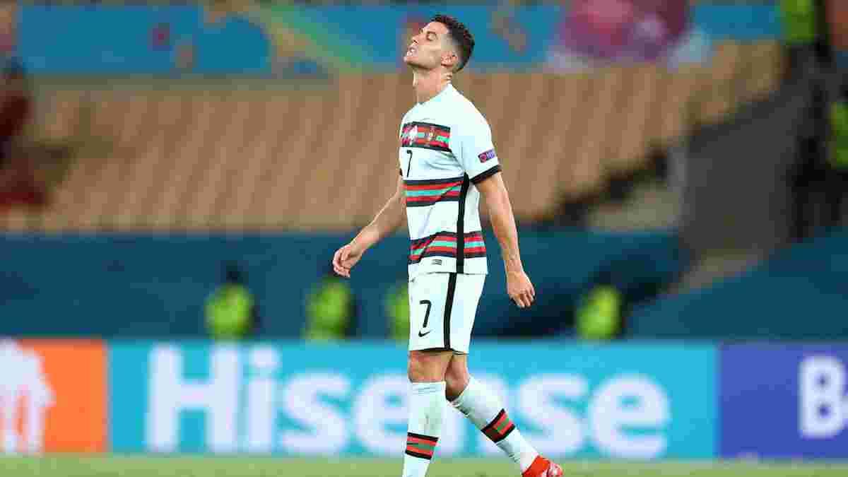 Роналду зворушливо звернувся до вболівальників Португалії після вильоту з Євро-2020