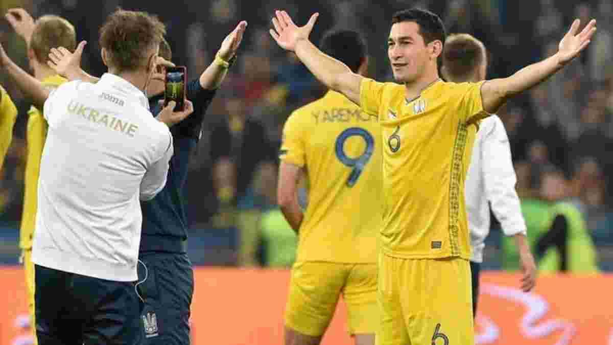 Швеція – Україна: Степаненко закликав шотландців підтримати команду Шевченка на стадіоні