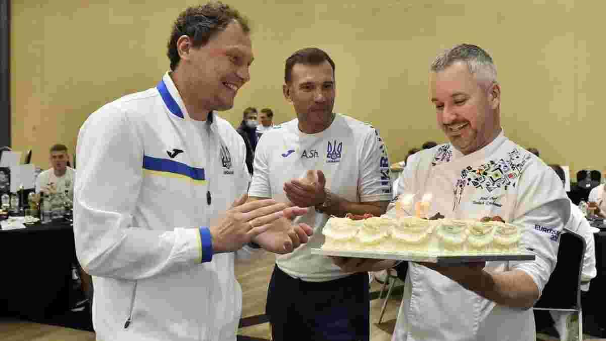 Пятов получил поздравления от сборной Украины с Днем рождения – позитивное видео