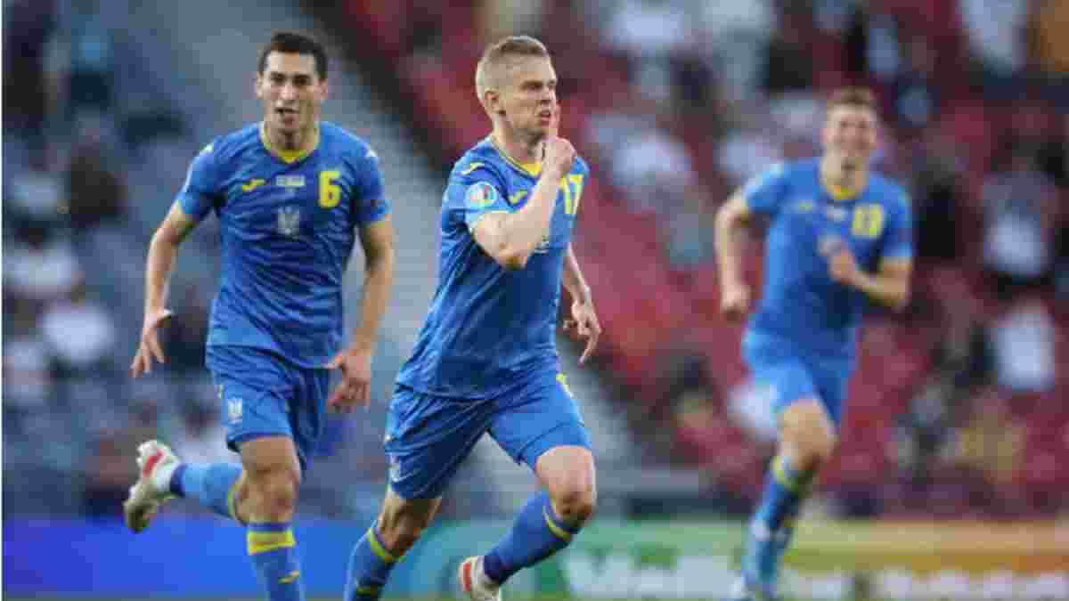 Швеція – Україна: Манчестер Сіті блискавично привітав Зінченка з ефектним голом