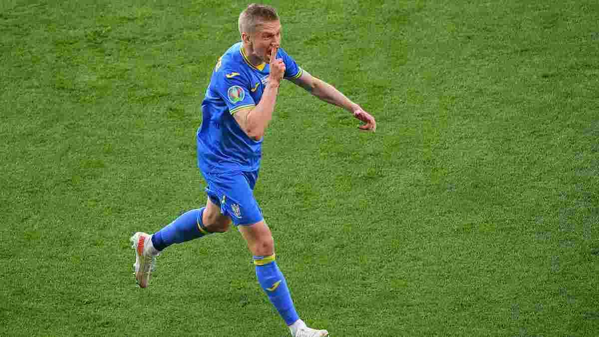 Зинченко мячом в ворота Швеции установил возрастной рекорд сборной Украины на Евро