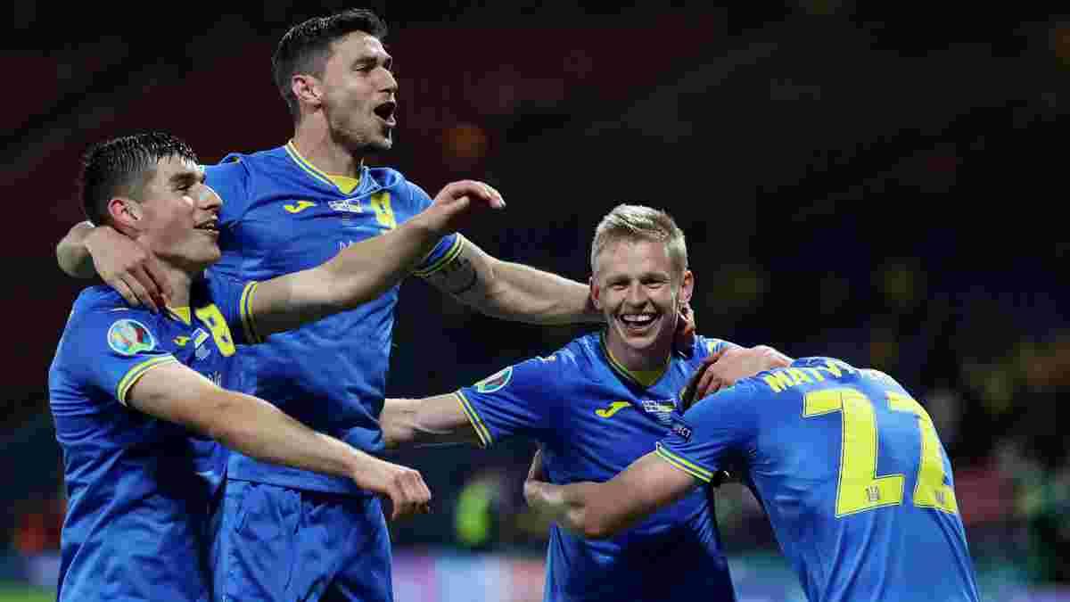 Головні новини футболу 29 червня: Україна прорвалася у чвертьфінал Євро-2020, Англія вибила збірну Німеччини