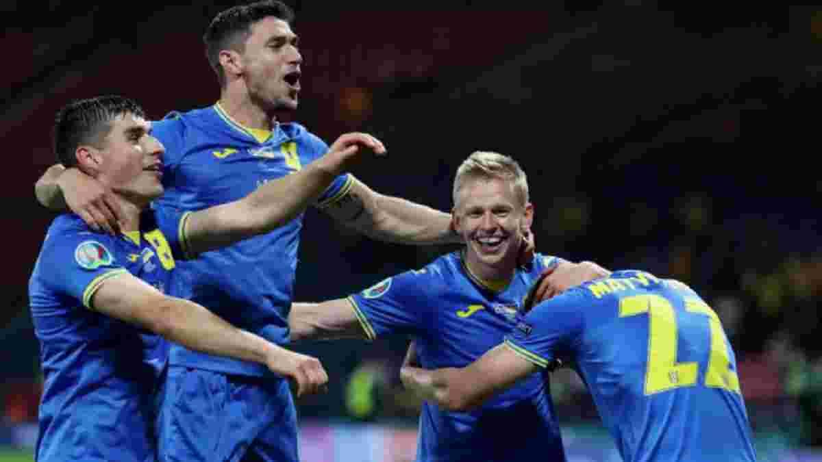 Швеция – Украина: InStat определил лучших игроков команды Шевченко в матче плей-офф Евро-2020