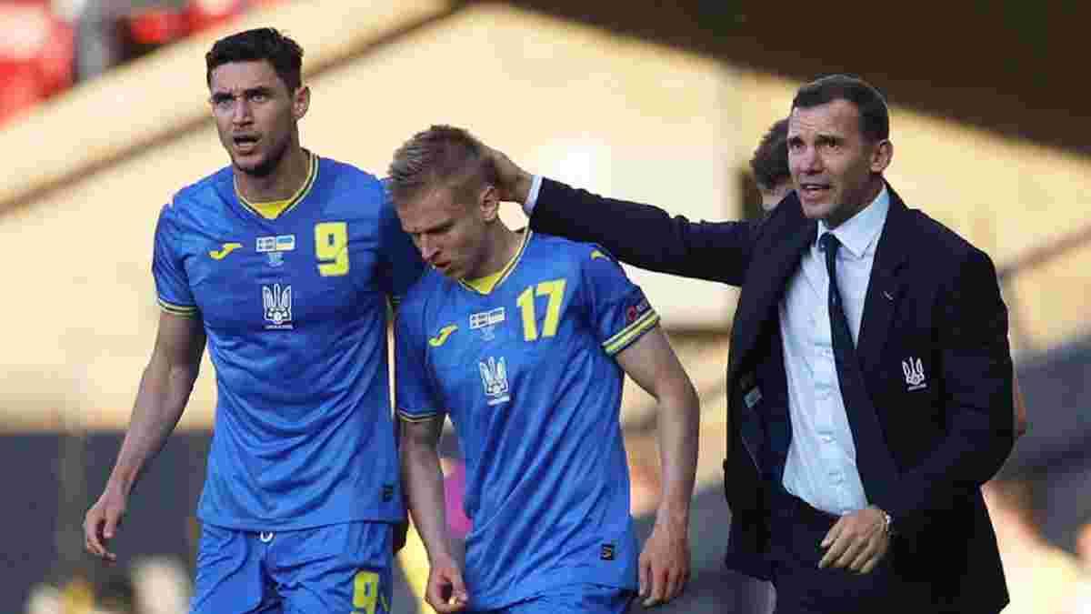 Швеция – Украина: Шевченко пригласил своих сыновей для празднования исторической победы на Евро-2020