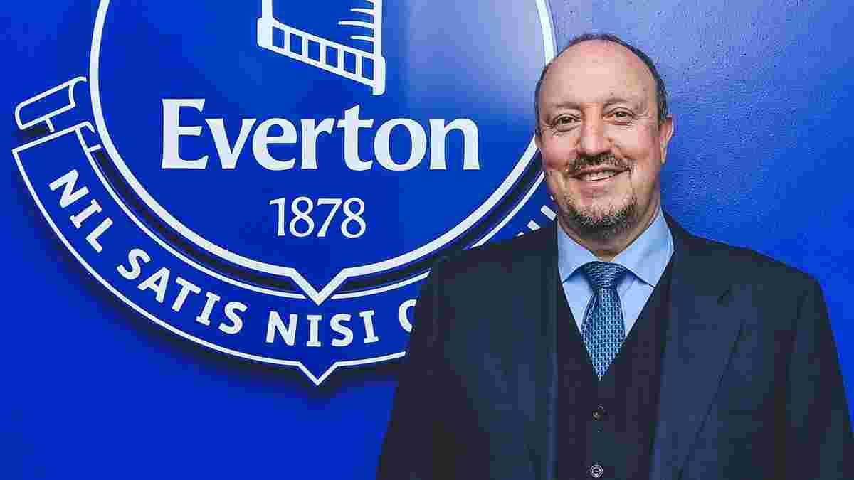 Бенитес официально возглавил Эвертон