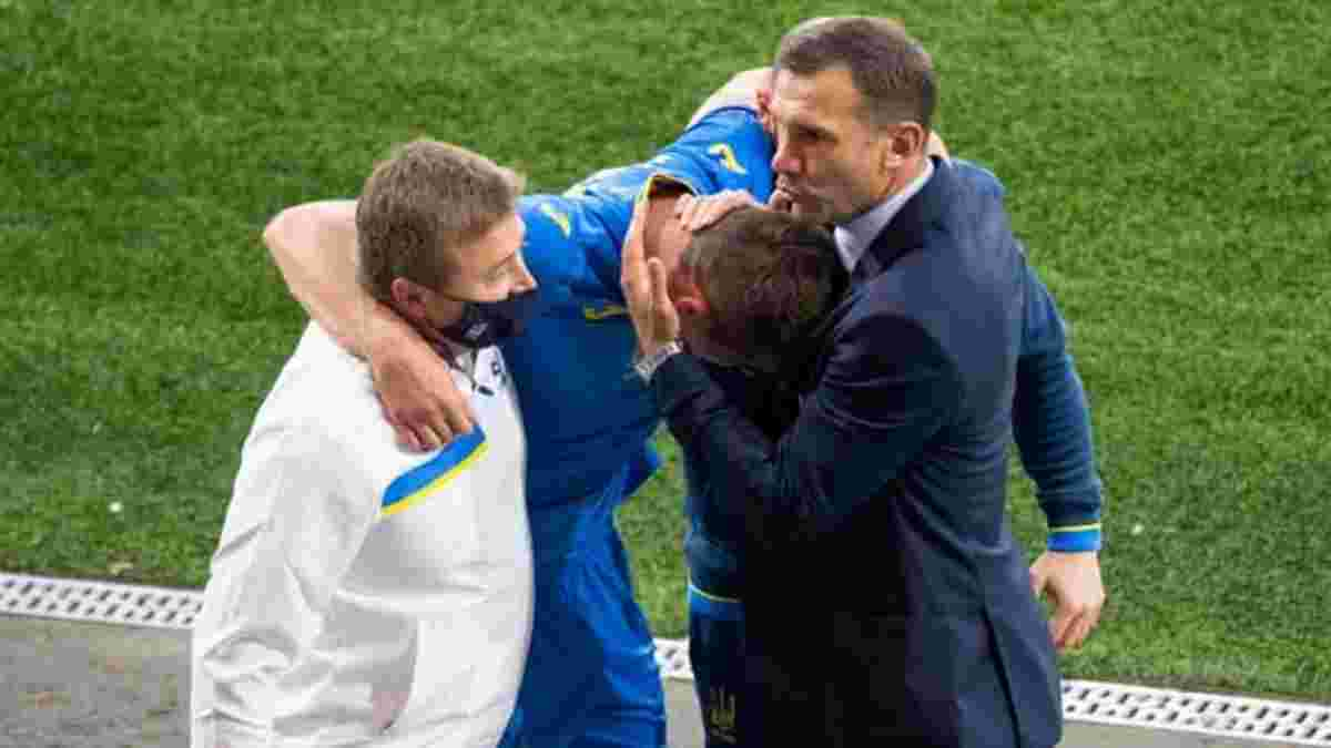 Динамо получит солидную компенсацию от УЕФА за травму Беседина на Евро-2020