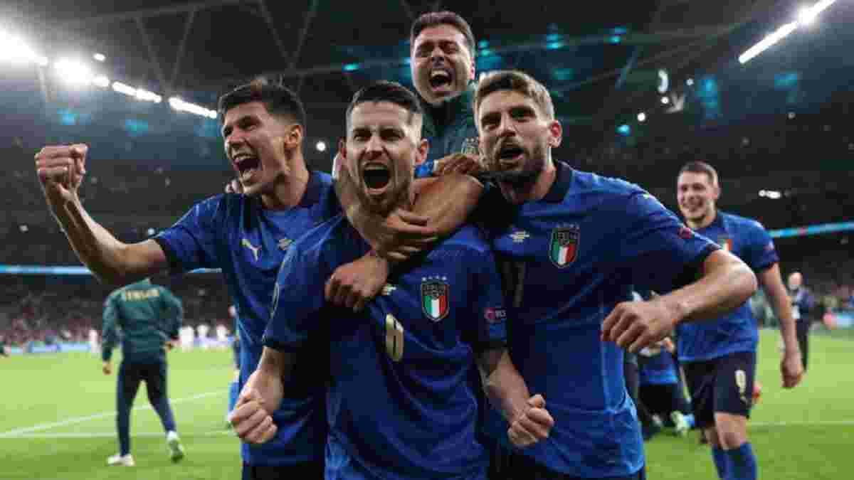 """Італія здолала Іспанію й стала фіналістом Євро-2020: Луїс Енріке переграв Манчіні, """"Скуадру Адзурру"""" зарано коронувати"""