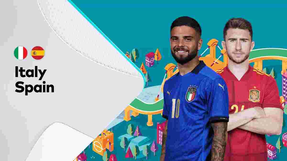 Італія – Іспанія: онлайн-трансляція матчу 1/2 фіналу Євро-2020 – як це було