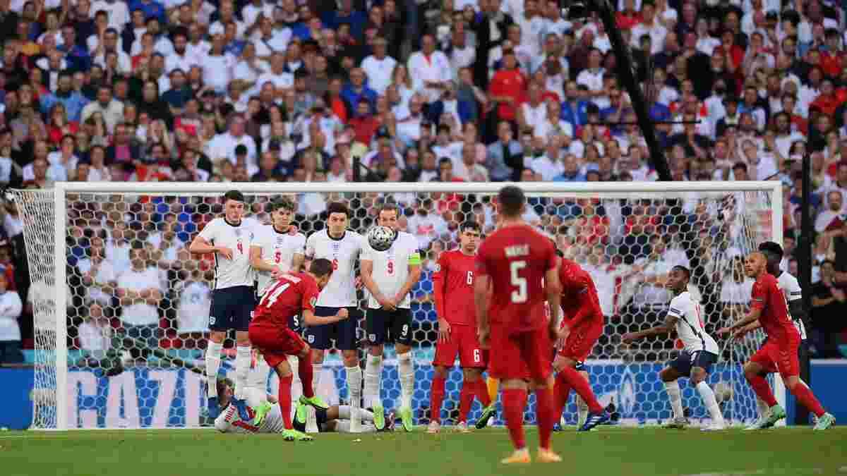 УЕФА выбрал трех претендентов на звание лучшего гола в полуфиналах Евро-2020