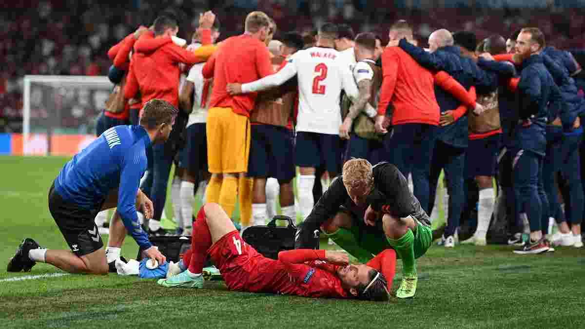 Англии повезло дважды – Дания второй овертайм отыграла в меньшинстве, хотя удалений не было