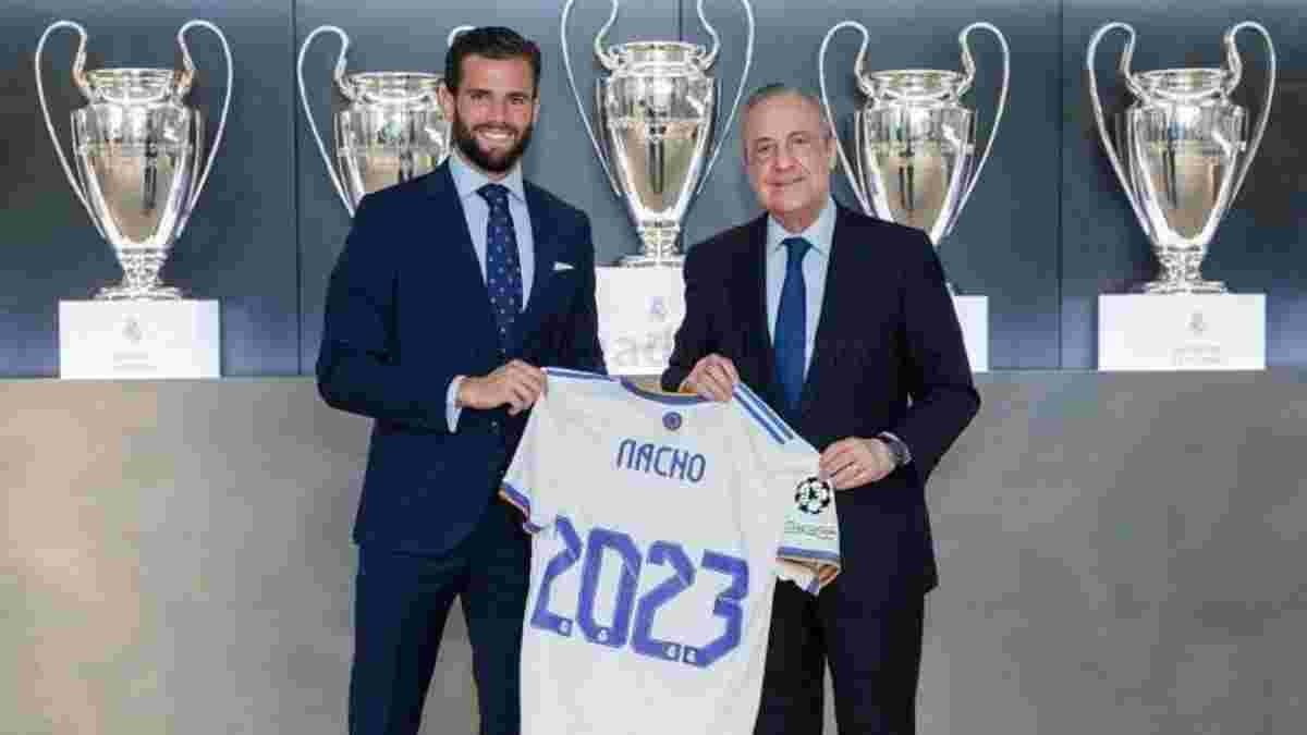 Реал пролонгував контракт із Начо – оборонець відсвяткував 20 років у клубі