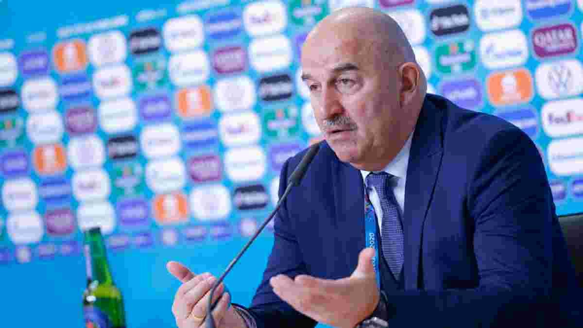 Россия официально уволила Черчесова с поста главного тренера