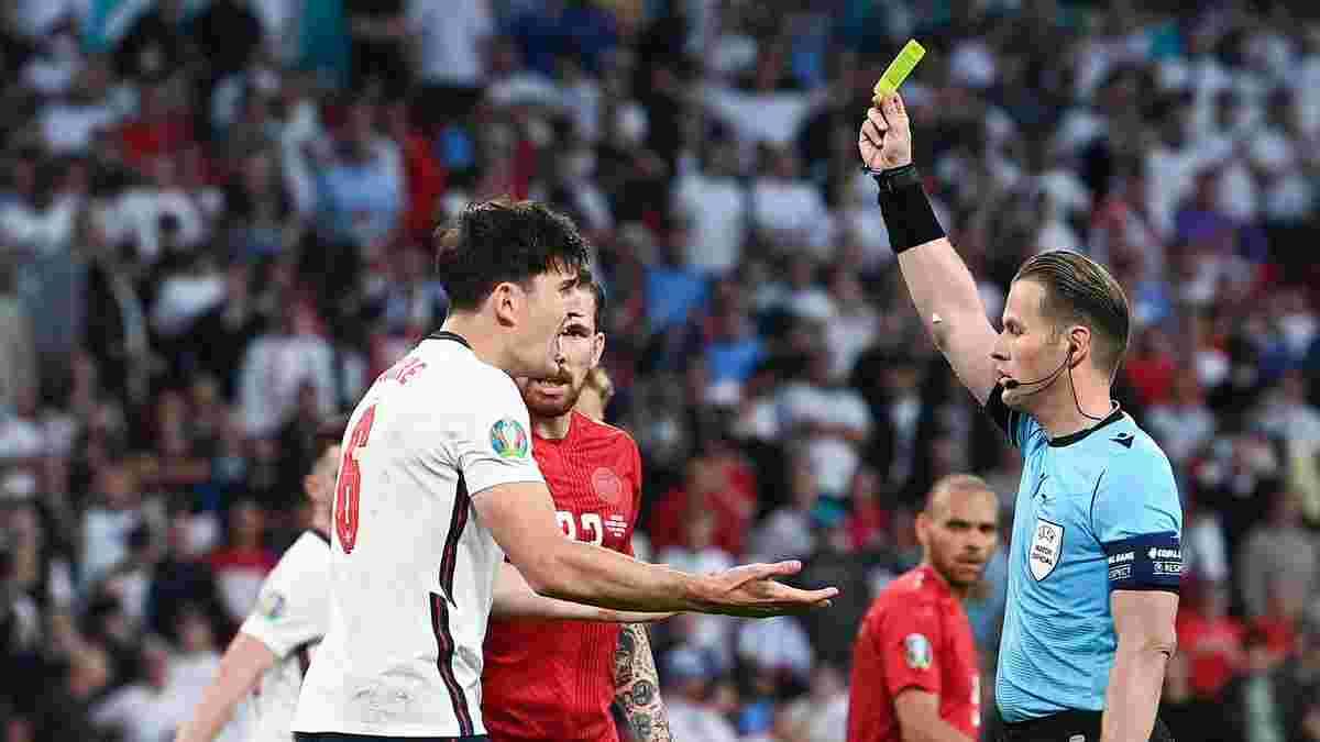 Англия – Дания: Ступар вступился за скандального арбитра полуфинала Евро-2020